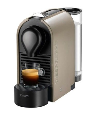 Foto de la Nespresso U de color gris