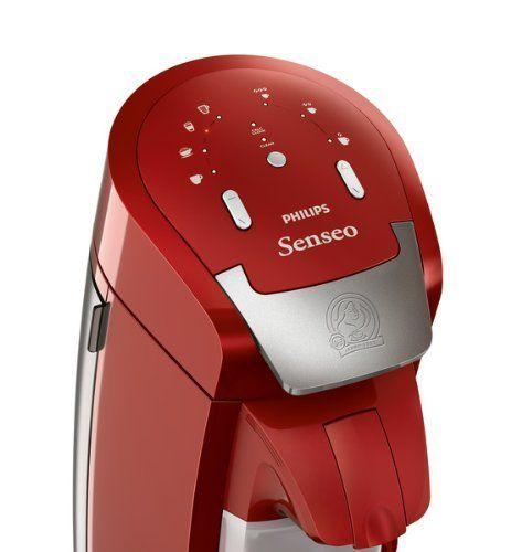 Senseo capuccino (HD7854) de color rojo