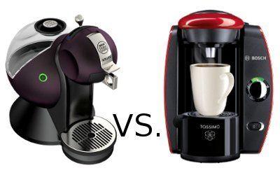Comparativa de cafeteras Tassimo y Dolce Gusto