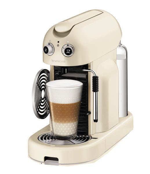 Cafetera Nespresso Maestria de color blanco