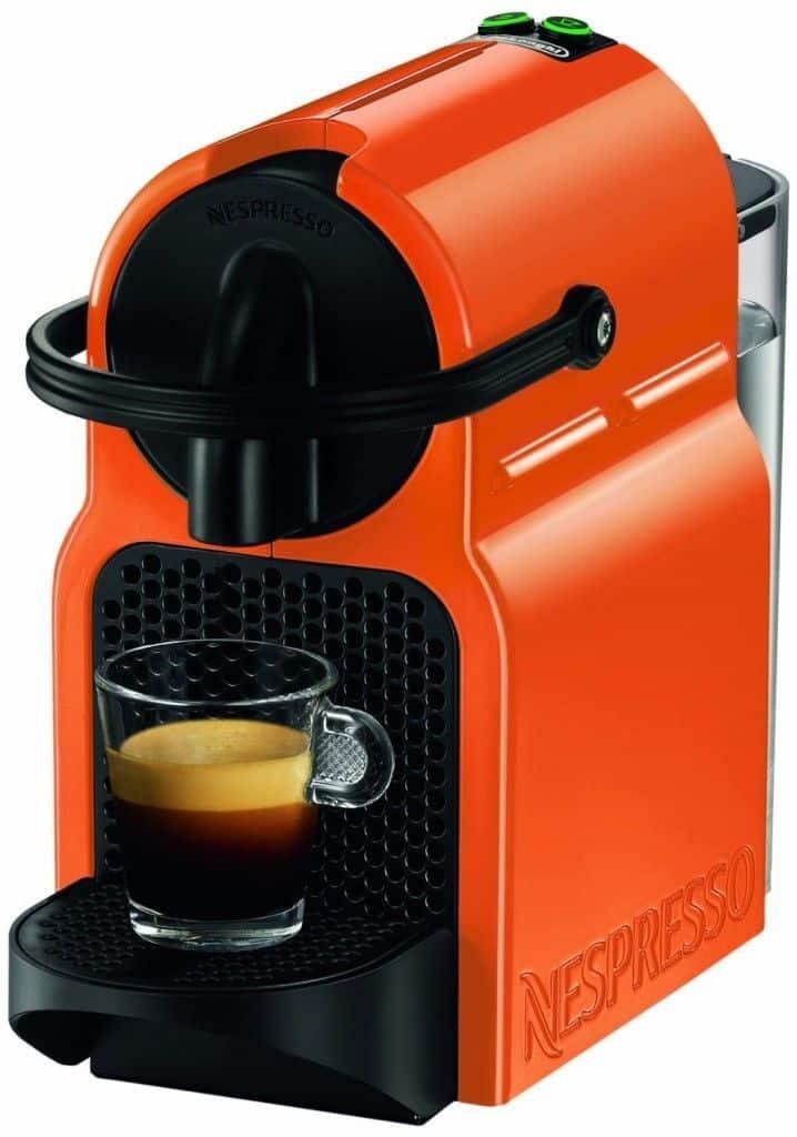 ▷ Nespresso Inissia azul y naranja