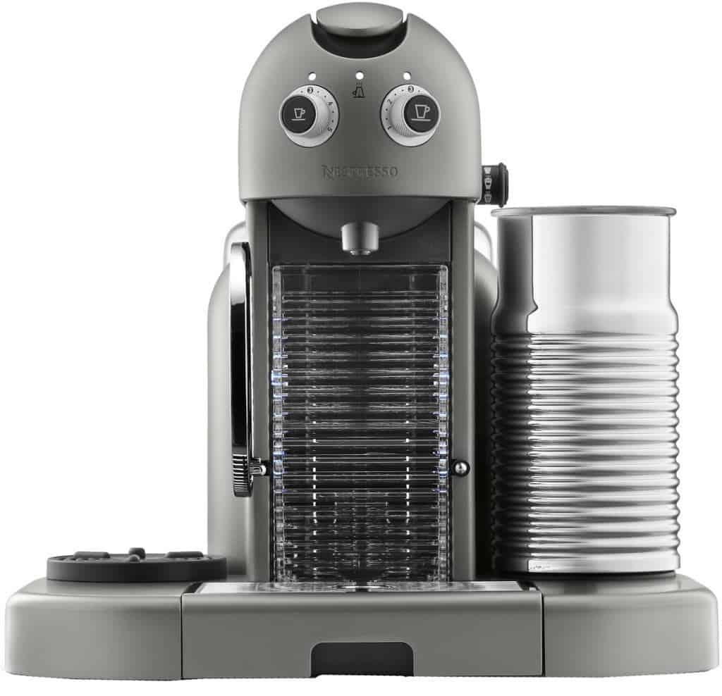 Nespresso Gran Maestria en color gris titanio