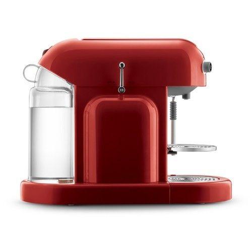 Cafetera Nespresso Maestria colo rojo