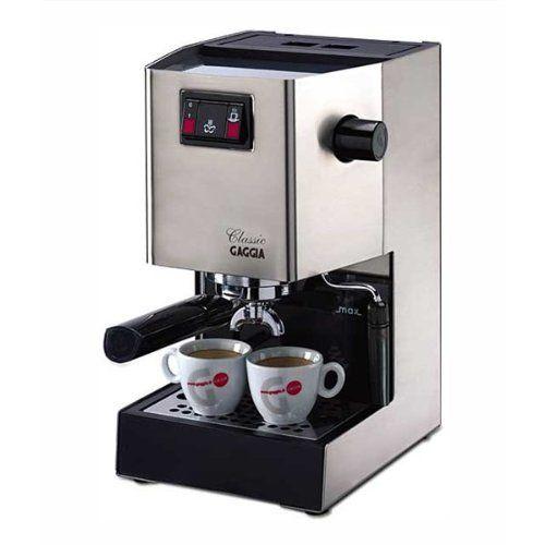 Comprar Gaggia Classic, cafetera express manual