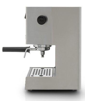 Cafetera Express Manual Gaggia Classic, vista de perfil