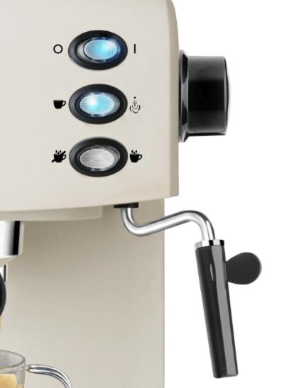 Cuadro de mandos de la cafetera Mini Moka CM-1695