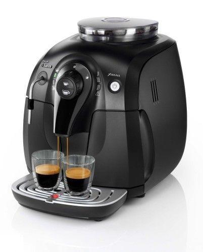Cafetera express Saeco Xsmall de color negro