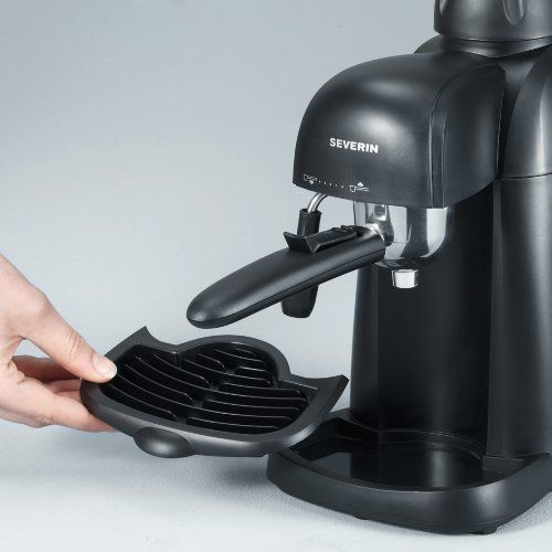 Cafetera Severin espresso 800w_bandeja extraible