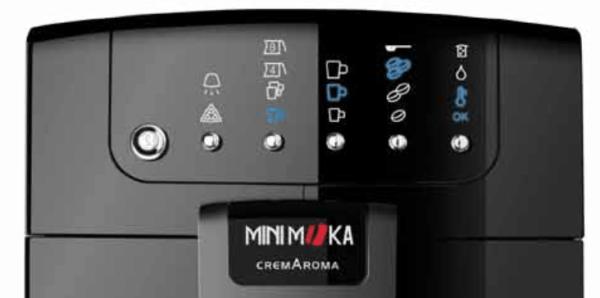 MiniMoka CM-4578: panel de control