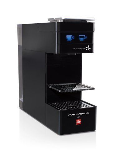 Cafetera Illy Y3 de color negro