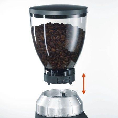 Graef CM800: contenedor de granos de café