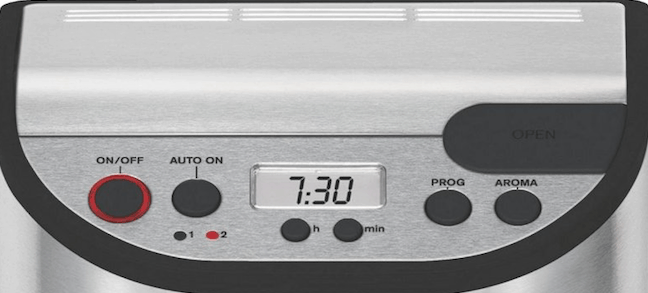 Krups YY8304: panel de control