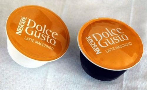 Foto de una cápsula Dolce Gusto Latte Macchiato