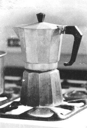 Cafetera Italiana muuy vieja