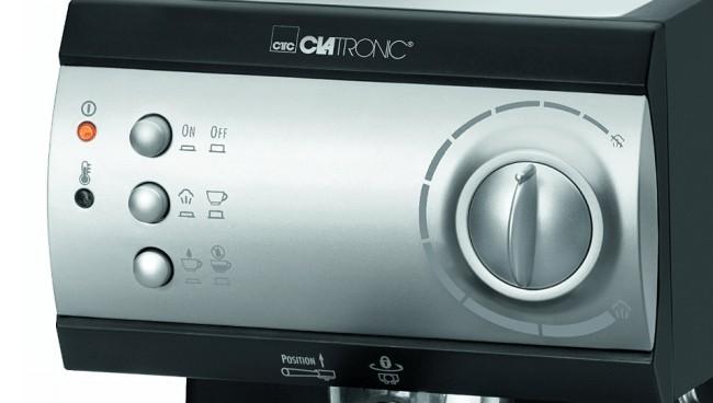 Clatronic ES 3584: panel de control
