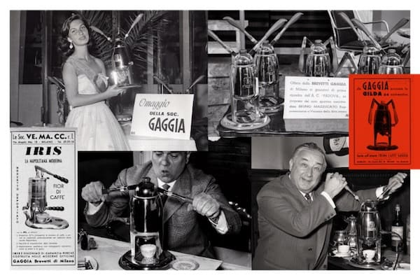 Cafeteras de la marca Gaggia
