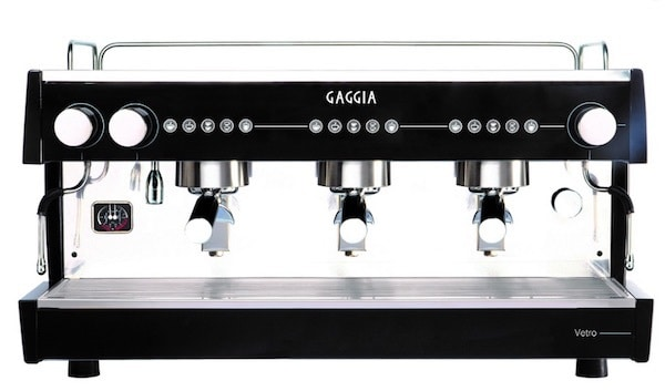 Cafetera de hostelería Gaggia Vetro