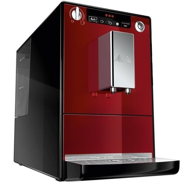 Melitta E950 de color rojo