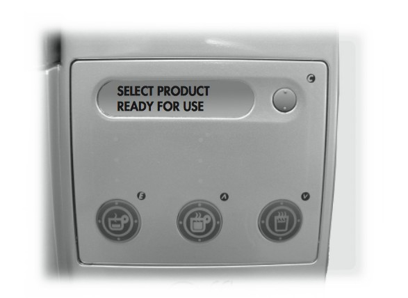 Saeco Royal Office: panel de control