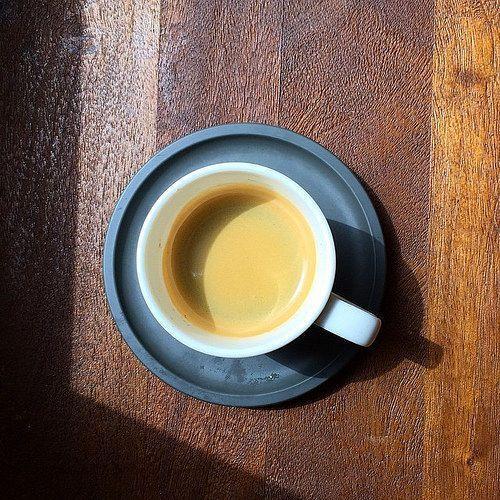 Foto de un café espresso
