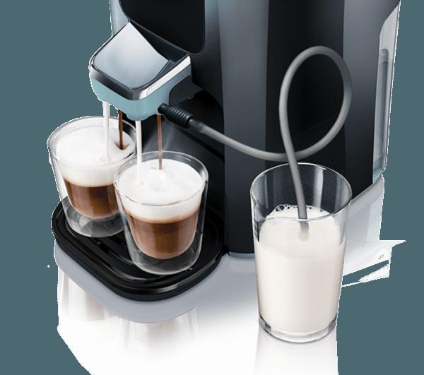 Senseo Latte Duo: cabezal de salida del café