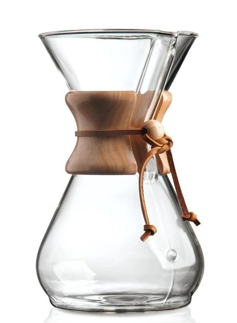 Foto de la cafetera Chemex de ocho tazas
