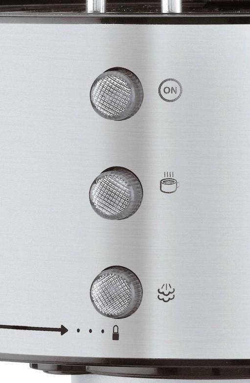 Detalle del panel de control de la Ufesa CE7150
