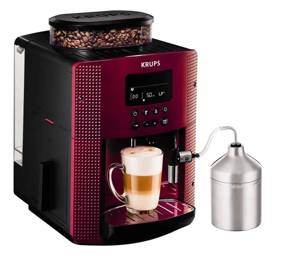 Krups pisa an lisis de cafetera express - Cafetera con molinillo incorporado ...