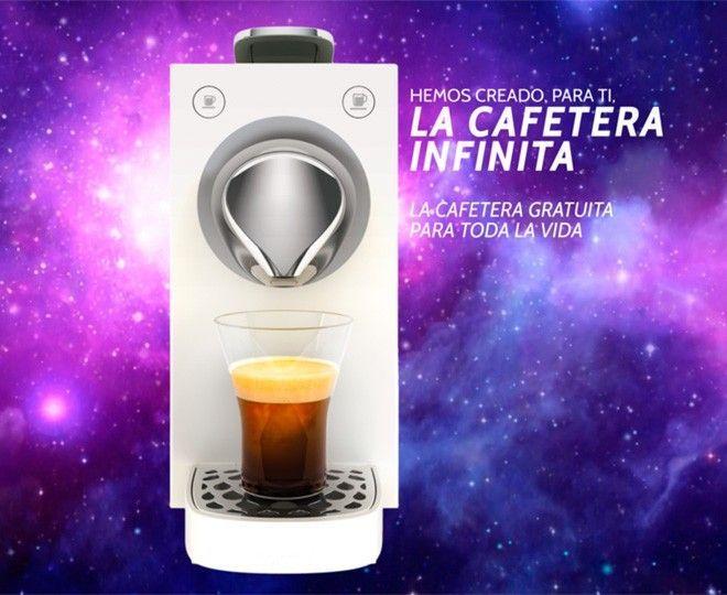 La Cafetera Infinita: una cafetera gratuita para toda la vida