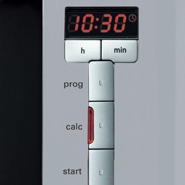 Detalle del panel de control de la Siemens TC86505
