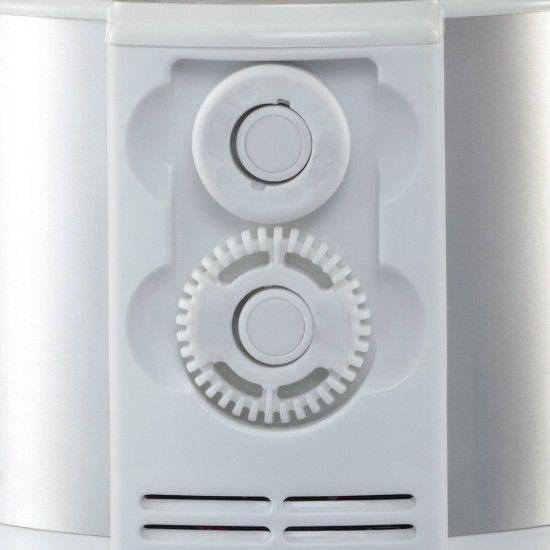 Foto del compartimento para almacenar los accesorios del espumador Severin SM9684