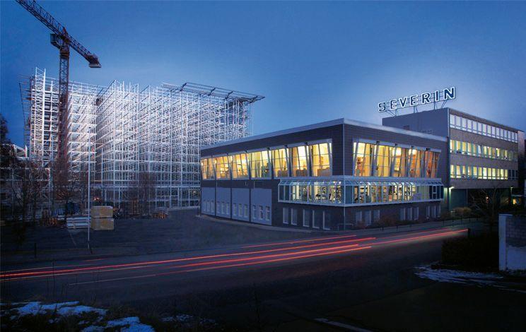Oficinas de Severin en Sundern (Alemania)