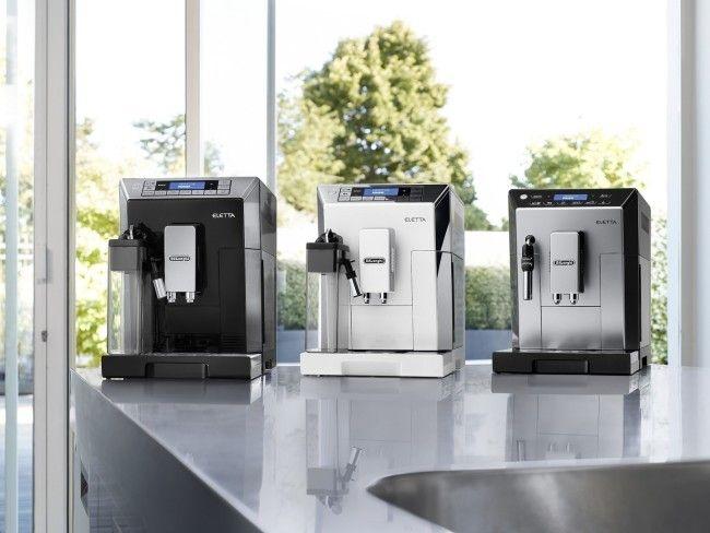 Foto de la cafetera automática Delonghi Eletta Plus