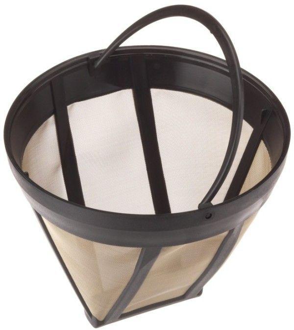 Foto de un filtro permanente para cafetera