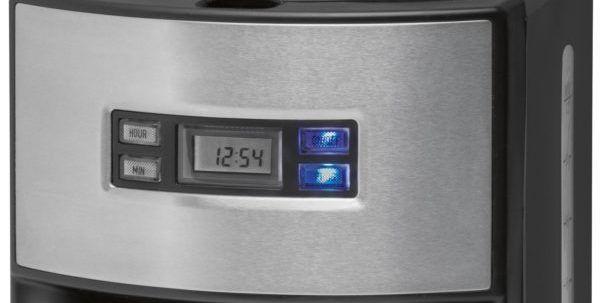 Panel de control de la cafetera Clatronic KA-3482