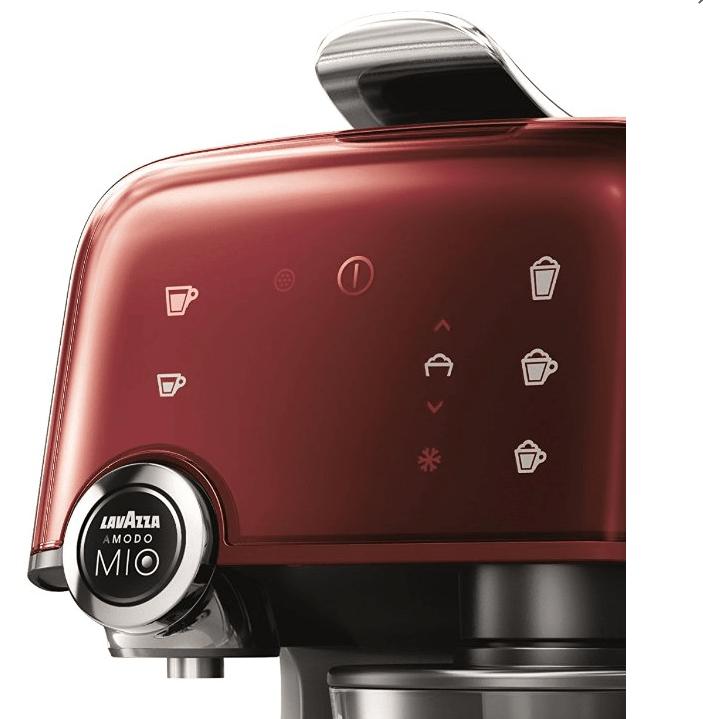 Detalle del panel de control de la cafetera Lavazza Fantasia
