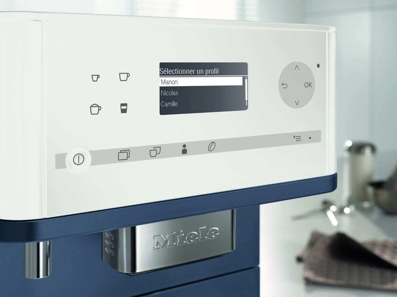 Panel de control de la Miele CM6310