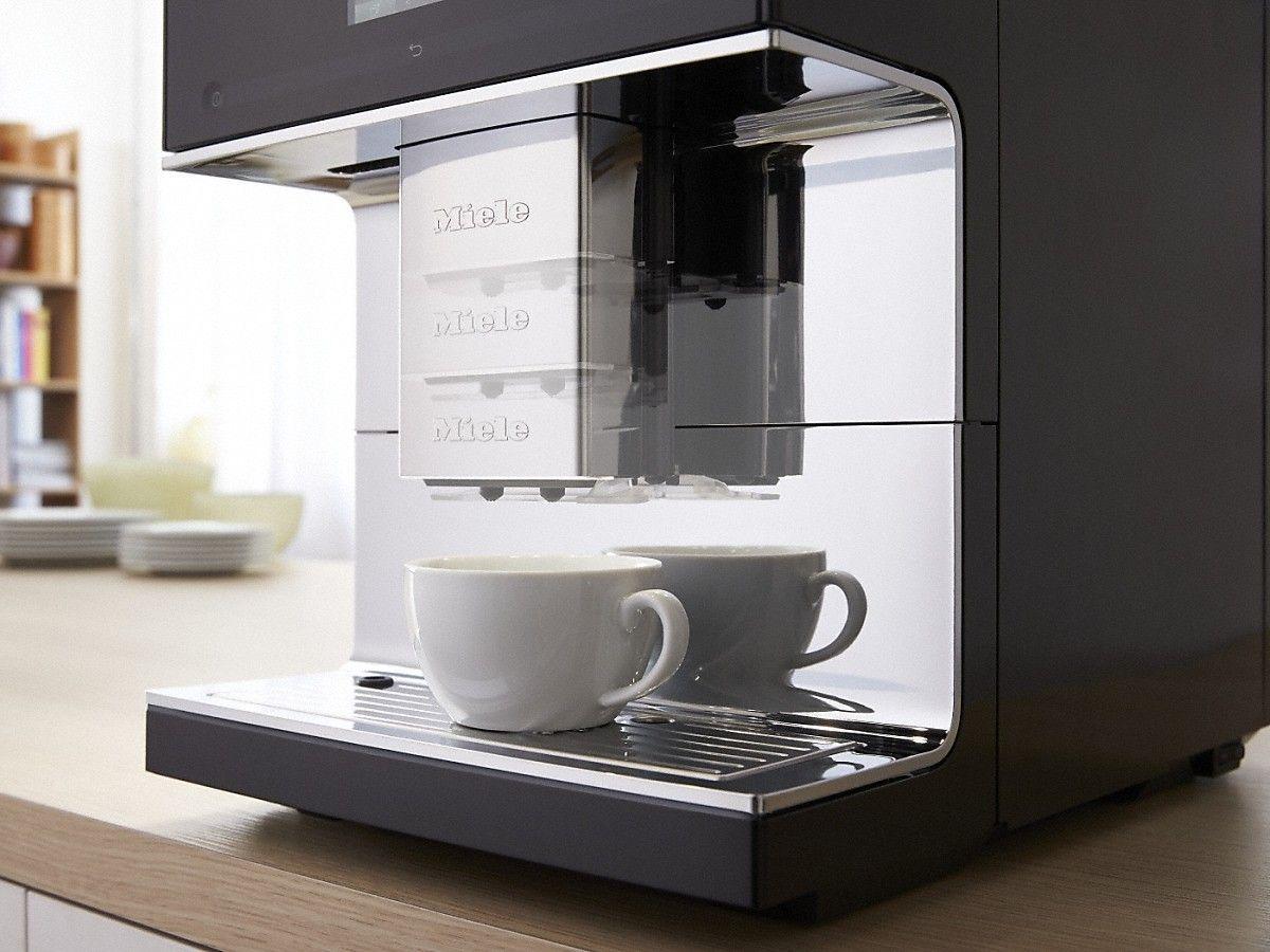 dispensador de la cafetera Miele CM7500