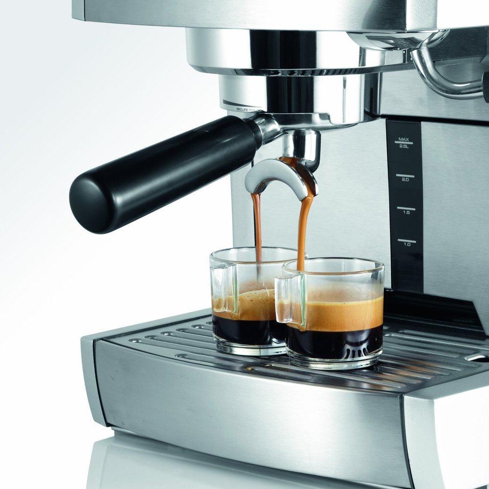 Fotografía de la cafetera Graef ES-85