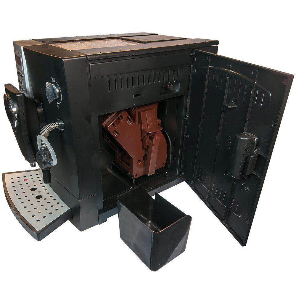 Vista lateral de la cafetera automática Viesta Eco 200