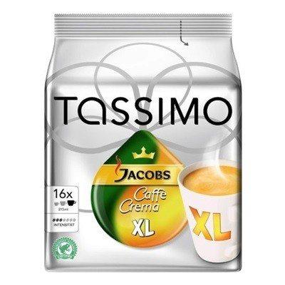 Cápsulas Tassimo T-Discs Caffe Crema XL