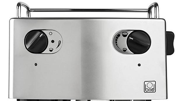 Panel de mandos de la cafetera Briel ES-75