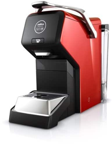 Imagen de la Lavazza Espria de color rojo