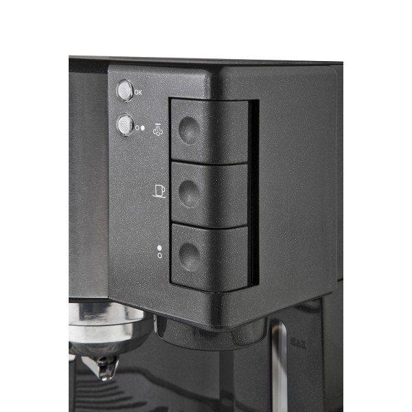 Vista del panel de control de la cafetera Briel ES35
