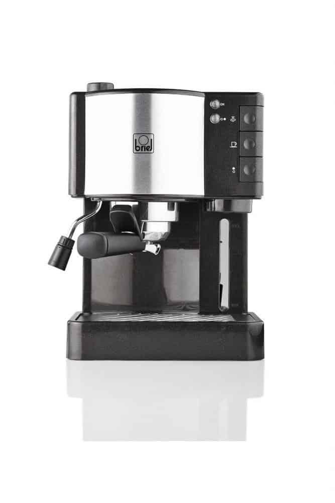 Plata Metalizado 1.25 litros Pl/ástico Electrolux EEA111 Cafetera EasyPresso con Bomba Profesional de 15 Bares de presi/ón y funci/ón Vapor 1250 W