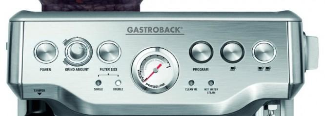 Imagen del panel de control de la gastroback Advanced Pro GS