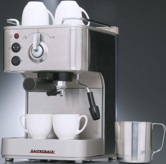 Foto de cafetera express Gastroback Design Espresso Plus