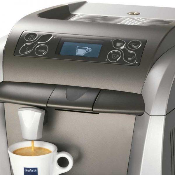 Imagen del panel de control de la Lavazza Blue 2300