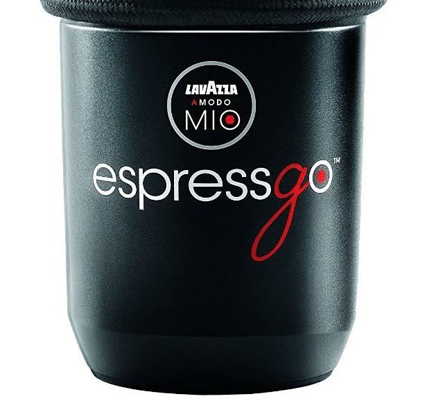 Fotografía de la base de la cafetera Lavazza EspressGo