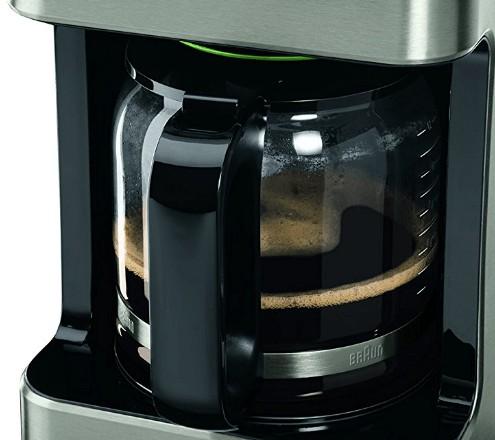 Jarra de vidrio de la cafetera Braun KF7120 PurAroma 7